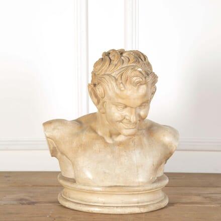 Plaster Bust of Pan GA558668