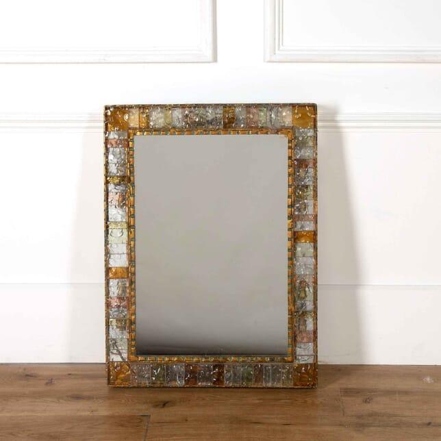 Poliarte Back Lit Crystal Framed Mirror MI538195