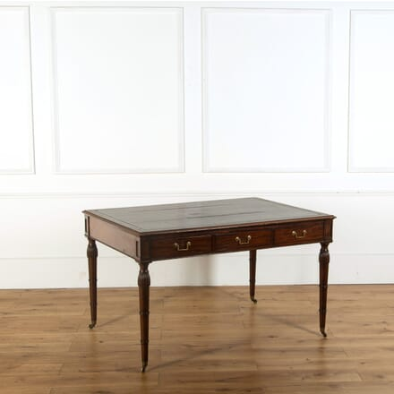 Regency Mahogany Writing Table or Desk DB278872