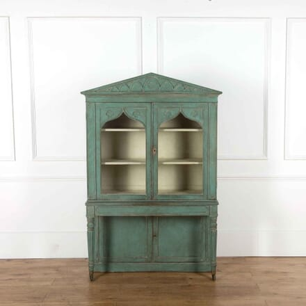 Regency Painted Bookcase BK438092