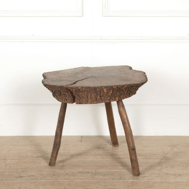 Rustic French 'Log' Table CT928035