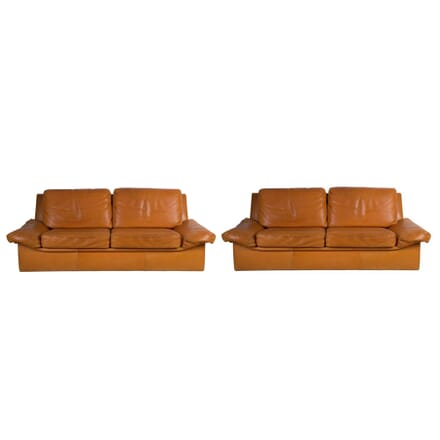 Pair Of 'Burov' Leather Sofas SB1513365