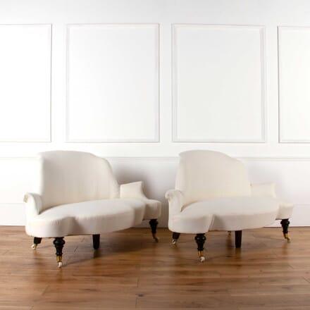 Pair of 19th Century English Sofas SB6361435