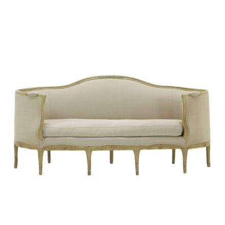 18th Century French Sofa with Original Paint SB068311