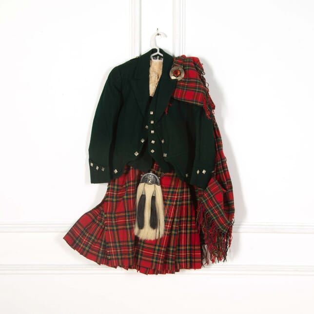 Scottish 'Stuart' Tartan Kilt Boys Outfit DA518555