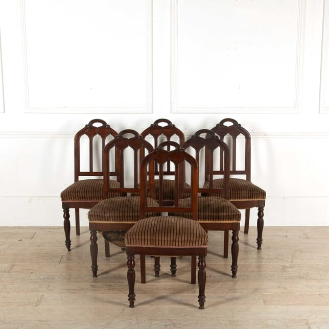 Set of 6 Dining Chairs CD398367