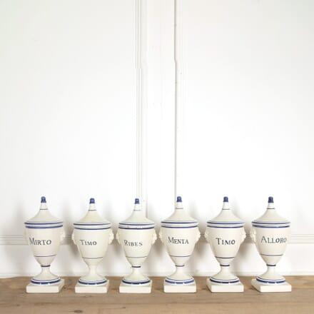 Set of 6 Pharmacy Jars DA288454
