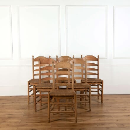 Six Cotswold Ash Chairs CD278697