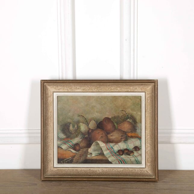 French Still Life Oil Painting of Chesnuts WD358077
