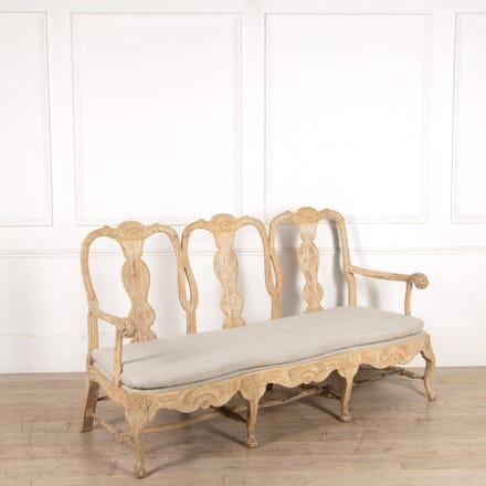Swedish 18th Century Rococo Sofa SB608436