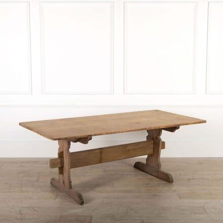 Swedish 19th Century Pine Dining Table TD448425