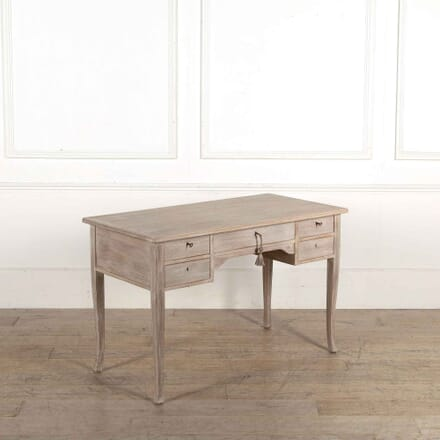 Swedish 20th Century Bleached Oak Desk DB448178