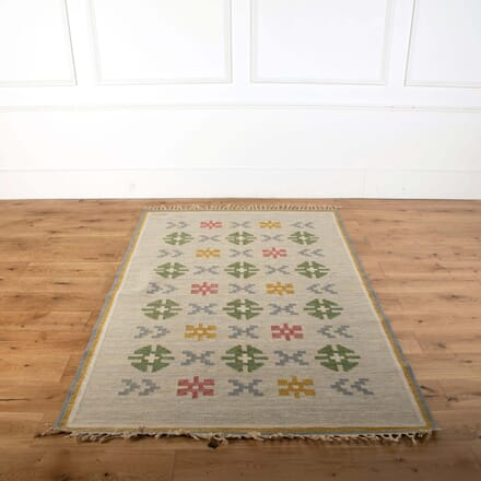 Swedish Flatweave Rug by Anna Greta Sjoqvist RT278699