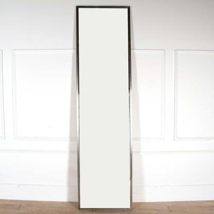 20th Century Chrome Framed Mirror MI748144