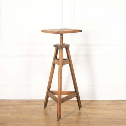 Tall Wooden Sculptors Stand BK558661