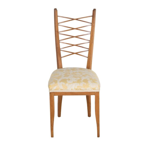 1950s Satinwood Side Chair CH2812736
