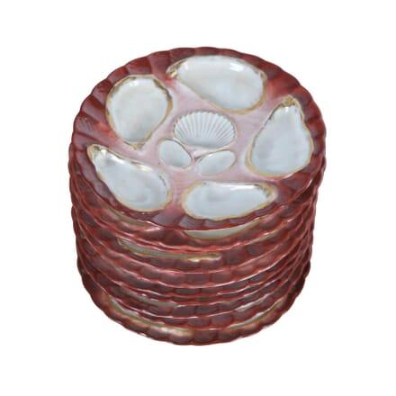 Set of Oyster Plates DA1355324