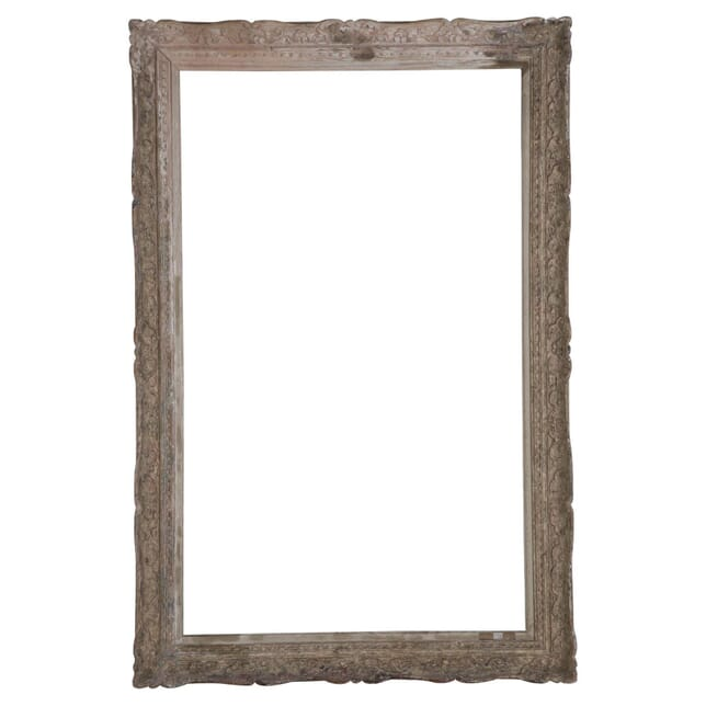 French 19th Century Large Carved Frame WD449750
