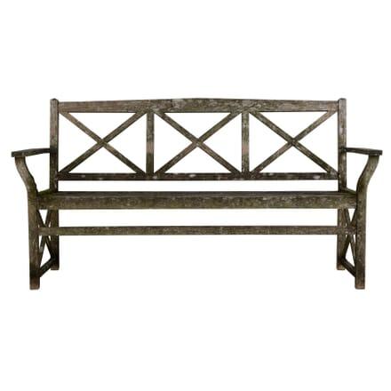 Neo-Classical Garden Bench c 1920 GA449743
