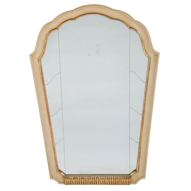 Italian Gilded and Painted Wall Mirror MI308010
