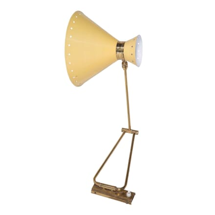 1950s Yellow Wall Light by Rene Matthieu LW5759883
