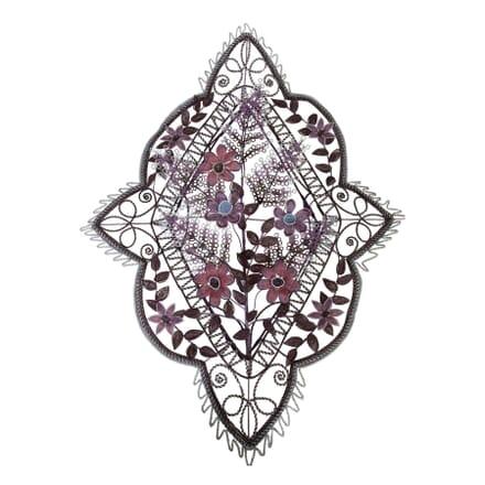 French Floral Beadwork Wreath DA9954042