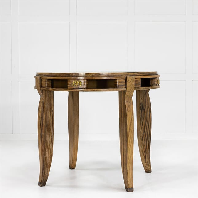 1930'S French Parquetry Centre Table With Ormolu Mounts TC0662566