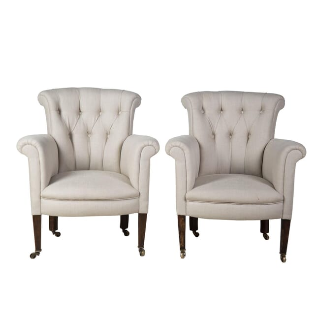 Pair of Edwardian Armchairs CH2357137