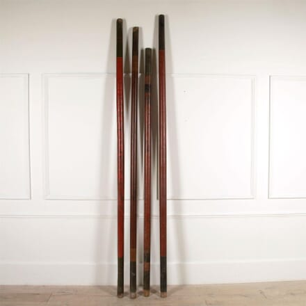 19th Century Swahili Lacquered Poles DA4461518