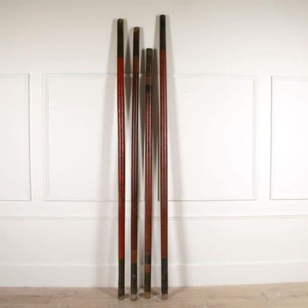 19th Century Swahili Lacquered Poles DA4461518
