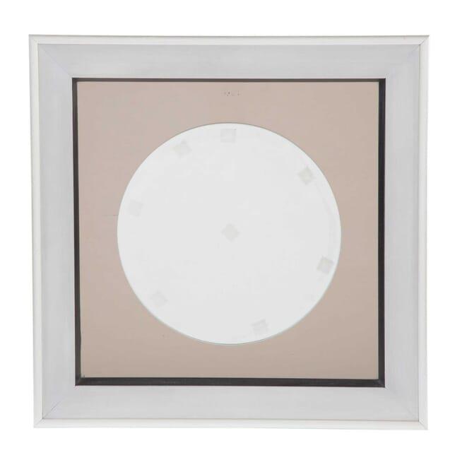 Square Steel Framed Mirror MI3012501