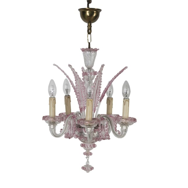 Small and Pretty Murano Glass Chandelier LC3060014