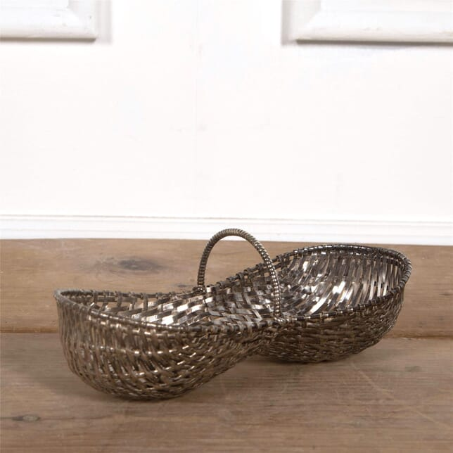 Miniature Silverplate Grape Basket DA1561869