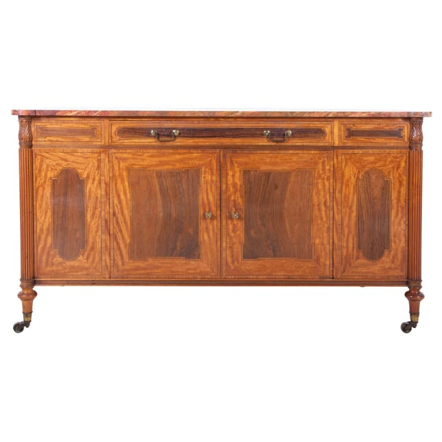 19th Century Marble Topped Side Cabinet BU1060297