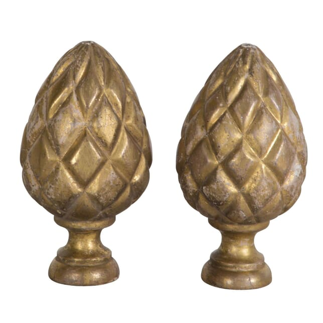 Pair of Pineapple Finials DA207044