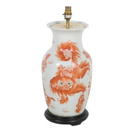 Chinese Lamp Vase LT4711916