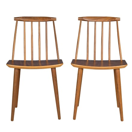 Pair of Danish Side Chairs CH5757749