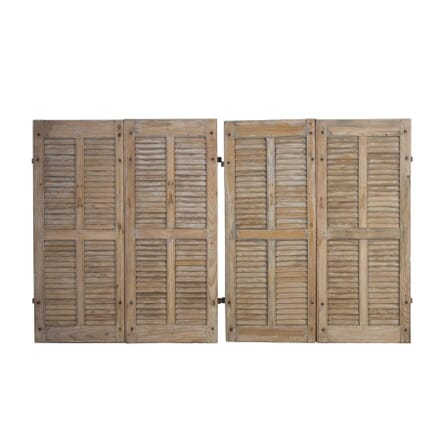 Set of French Louvred Shutters OF4413152