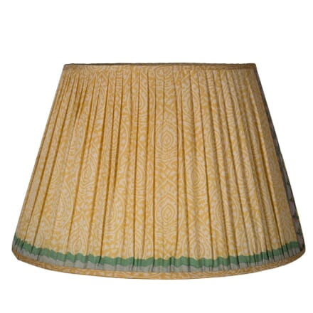 50cm Yellow Silk Lampshade LS6659311