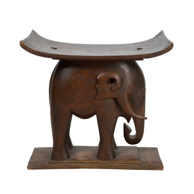 African Elephant Stool ST5558019