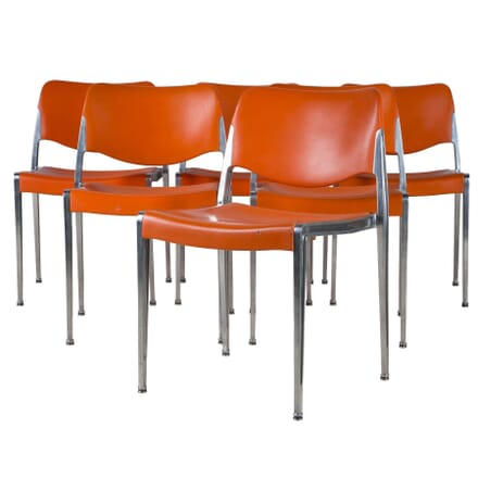 Set of  Six Kusch and Co Chairs CH406926