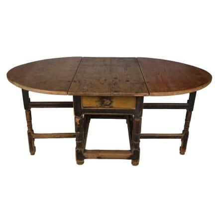 Swedish Rococo Drop Leaf Table TD6057437