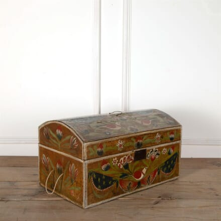 Painted 18th Century French Marriage Coffer OF5162669
