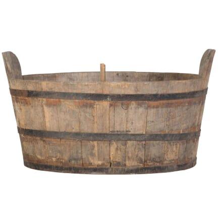 Wooden Plunge Bath GA2010552