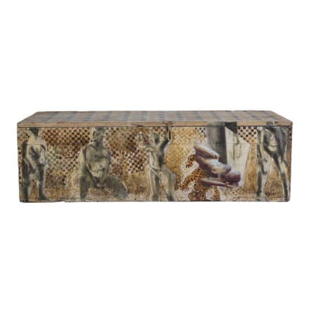 English Painted Trunk OF0554311