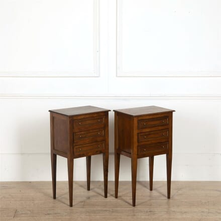 Pair of Directoire Revival Bedside Tables BD157700