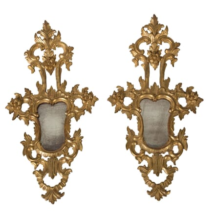 Pair of Venetian Mirrored Appliques MI1559467