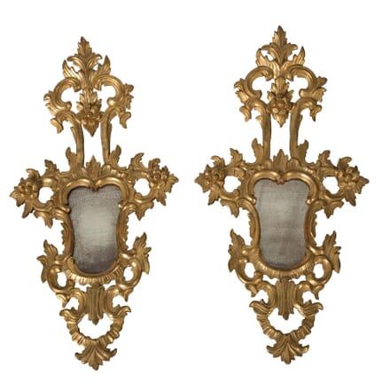 Pair of Venetian Mirrored Appliques MI1559467