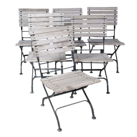 Six Folding Chairs GA3757053