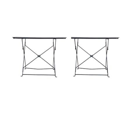 Pair of 1920's Garden Tables in Original Paint GA2060577